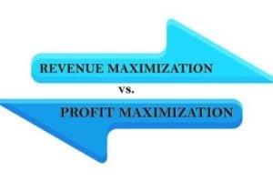Revenue Maximization Vs Profit Maximization