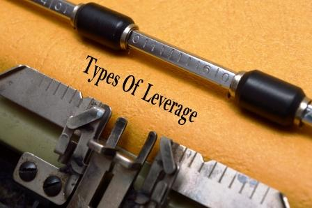 Leverage and Types of Leverages