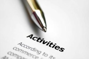 Types of Activity / Turnover Ratios