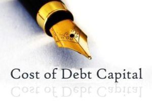 Cost of Debt Capital Yield to Maturity