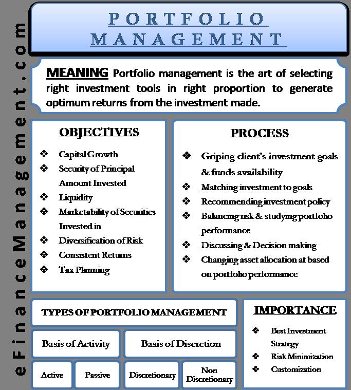 Portfolio Management | Definition, Objectives, Importance