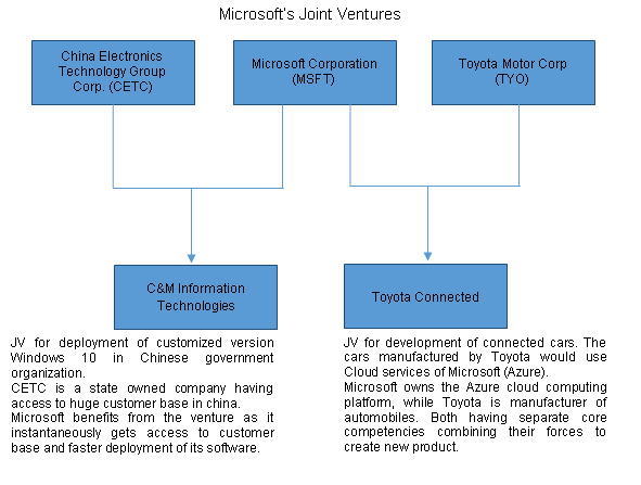 Private Joint Venture - Microsoft Example