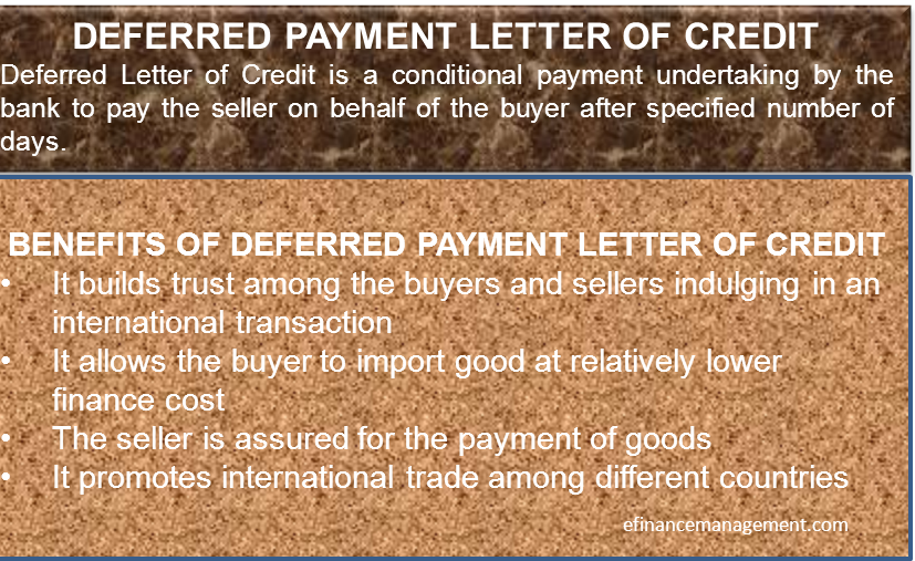 Deferred Payment LC