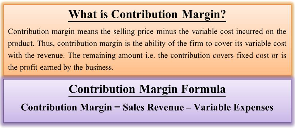 Why do you think cost of sales is included in the computation of contribution margin on page