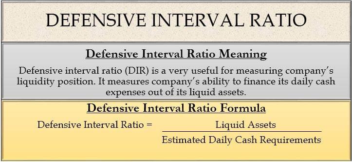 Defensive Interval Ratio