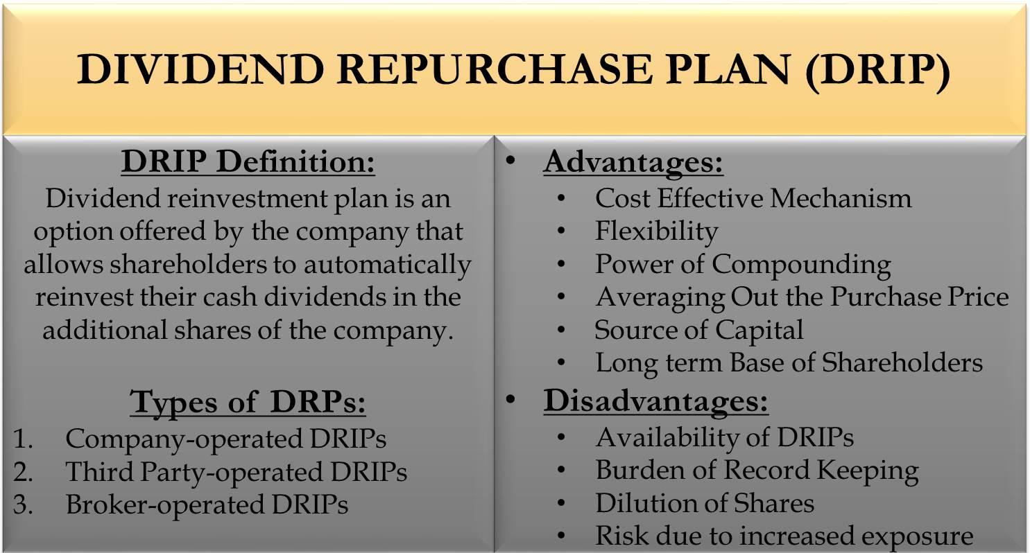 Dividend Reinvestment Plan | eFinanceManagement com