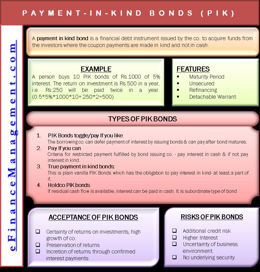 Payment in Kind Bonds (PIK)