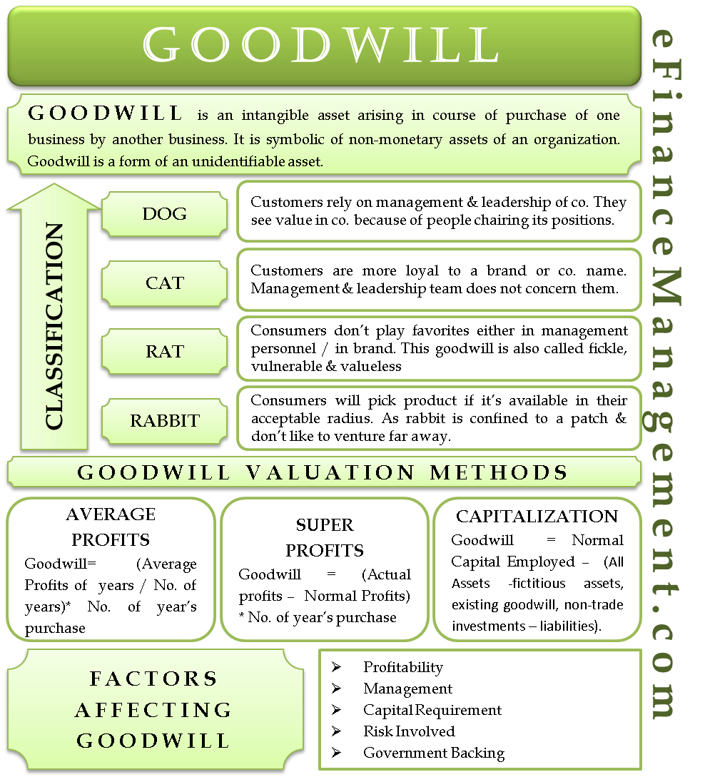 Purchased goodwill meaning in hindi