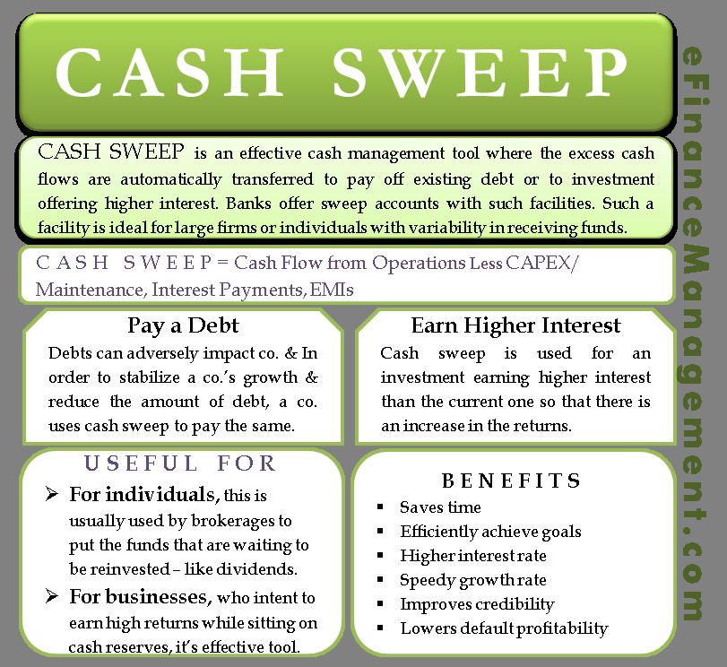 Cash Sweep