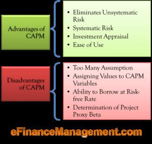 Advantages & Disadvantages of CAPM