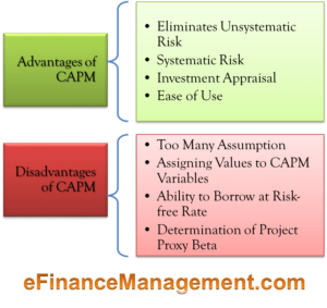 Advantages & Disadvantages of CAPM