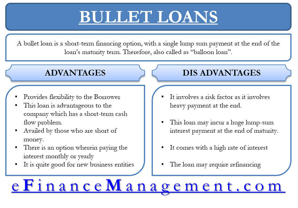 Bullet Loans