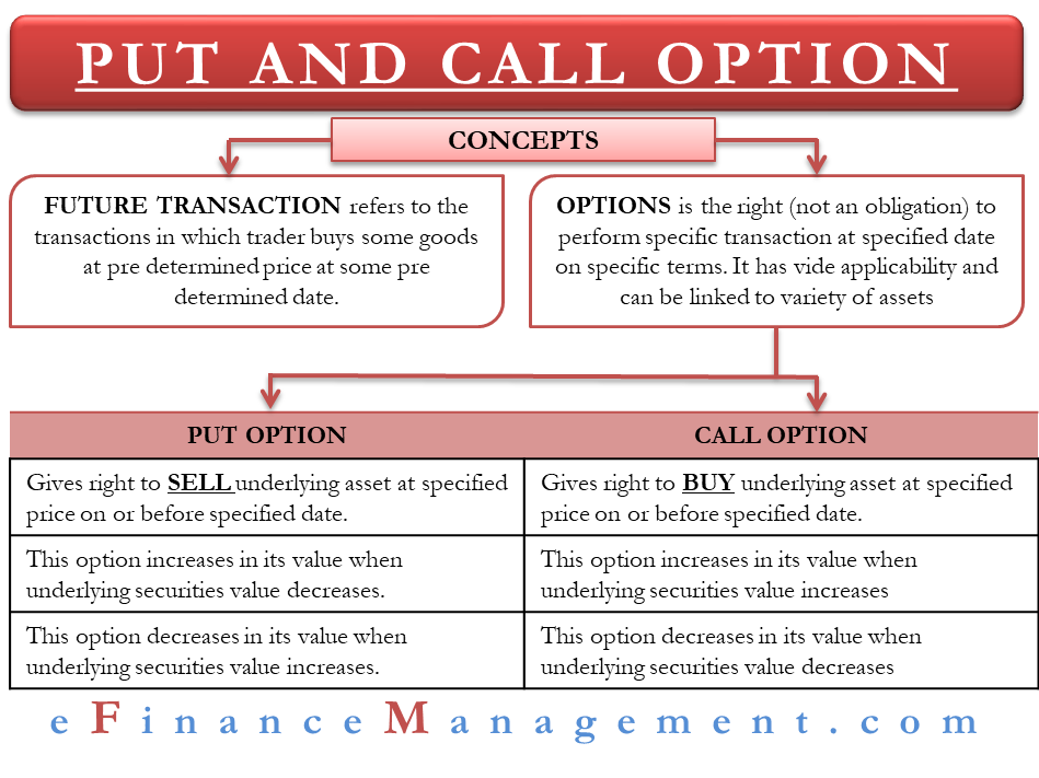 Put and Call Option