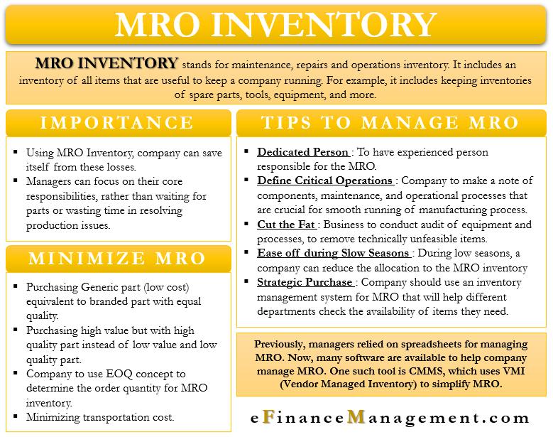 MRO Inventory
