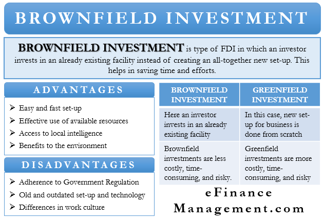 Brownfield Investment