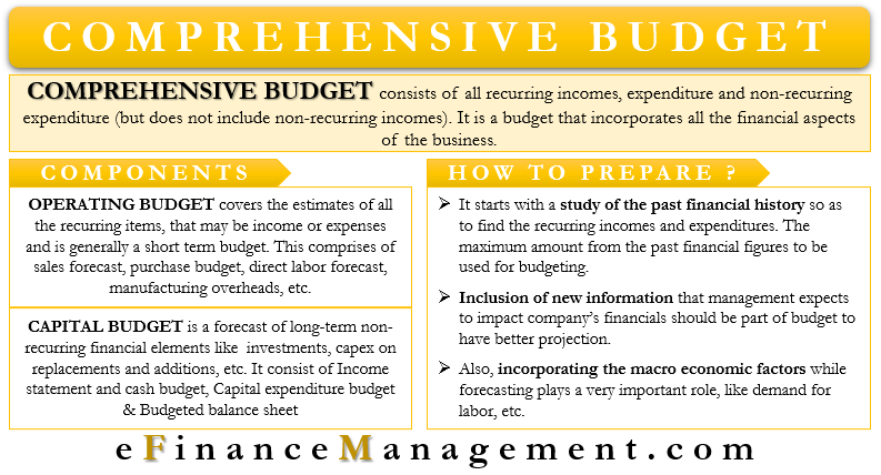 Comprehensive Budget