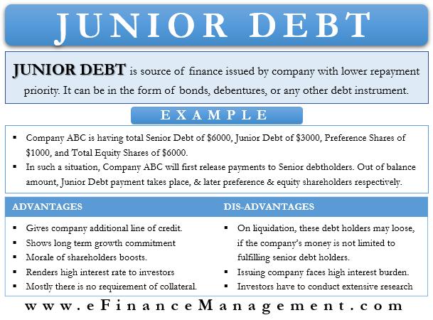 Junior Debt