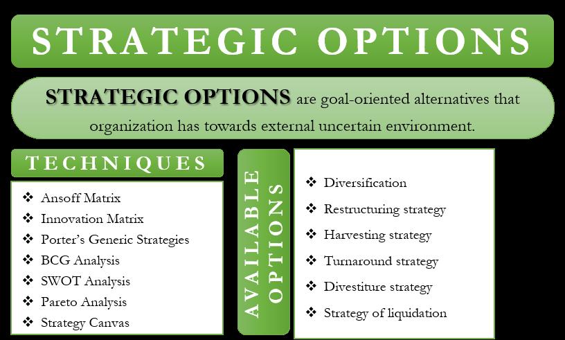 Strategic Options