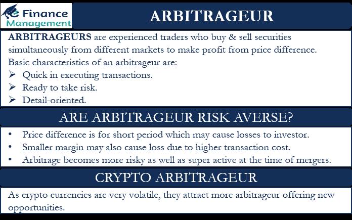 arbitrageur