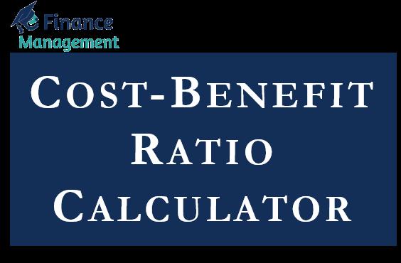 Cost-Benefit Ratio Calculator