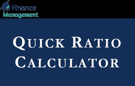 Quick Ratio Calculator