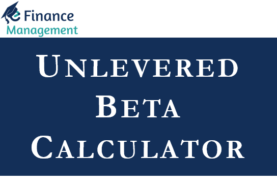 unlevered beta calculator