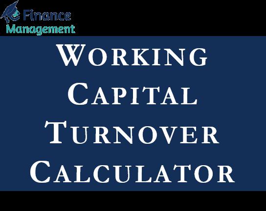 working capital turnover calculator