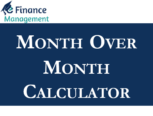Month over Month Calculator