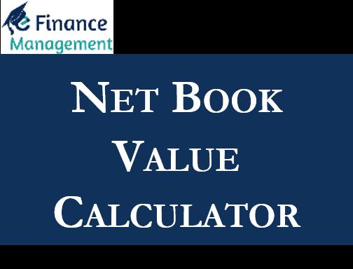 Net Book Value Calculator
