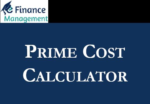 Prime Cost Calculator