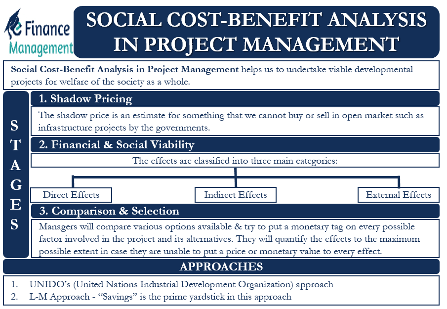 Social Cost-Benefit Analysis in Project Management